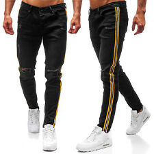 Vaquero Pantalones Pantalón Jeans Clásico Motivo Hombre Mix BOLF 6F6 Casual