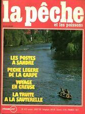 Revue  La pêche et les poissons No 423 Août 80