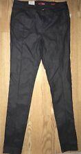 NWT Bongo Grey Gray Skinny Zipper Front Pants Juniors Size 7
