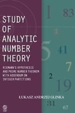 Study of Analytic Number Theory : Riemann's Hypothesis and Prime Number...