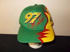 VTG-1990s John Deere Motorsports Chad Little NASCAR Racing snapback hat sku24