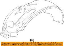 FORD OEM-Front Fender Liner Inner Splash Shield Guard Left BC3Z16055A