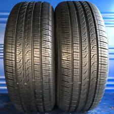 2 Pirelli Cinturato P7 A/S RFT (BMW) Tires 225 5018 with 9.5/32nds = 95%   (99V)