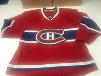 MENS ON ICE AUTHENTIC REEBOK MONTREAL CANADIENS HOCKEY JERSEY-SIZE 46,50,52