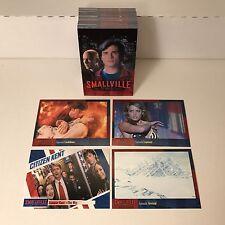 SMALLVILLE SEASON 5 (2007) Complete Trading Card Set SUPERMAN Tom Welling