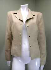 CARLISLE Women's Mustard & Gray Tweed Blazer~Size 6