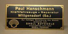 Händlerschild Plakette Wittgensdorf Chemnitz Schüttoff Wanderer Diamant NSU [V74