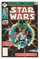 Star Wars # 1 Marvel Comics 1977 Whitman No UPC code Diamond 35 cent price