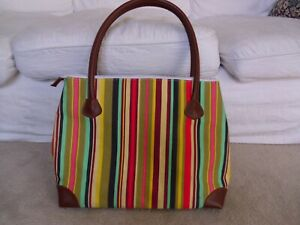 Laura Ashley Multi Coloured Shoulder Cooler/Picnic Bag