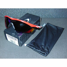 New Oakley M2 Frame Sunglasses Redline/Positive Red Iridium Cycling Sport Shield