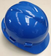 20-Pack Msa V-Gard Blue Safety Hard Hat Head Protection Construction Ratchet