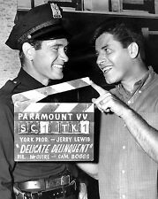 "JERRY LEWIS & DARREN McGAVIN IN ""THE DELICATE DELINQUENT"" - 8X10 PHOTO (OP-161)"