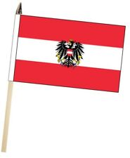 Austria State Aguila Grande para Agitar con Mano Bandera Cortesía
