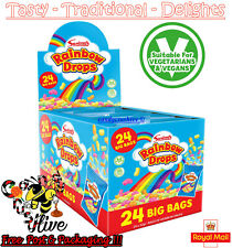 Large 32g Bag SWIZZELS RAINBOW DROPS Wholesale Pick N Mix Wedding Retro Sweets