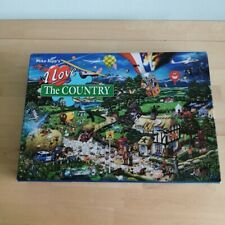 Gibsons 1000-piece jigsaw  Mike Jupp I Love the Country