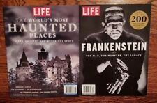 THE WORLD'S MOST HAUNTED PLACES & FRANKENSTEIN THE MAN~THE MONSTER~THE LEGACY