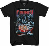 Star Wars Darth Vader Dark Side Crunch Adult Tee Graphic T-Shirt for Men Tshirt