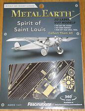 Spirit of Saint Louis Metal Earth 3D Laser Cut Metal Model Fascinations Airplane