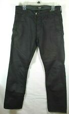 """Chasin' Lust For Jeans """"Reunion"""" Black Slim Button Fly Jeans Size 32 x 32"""