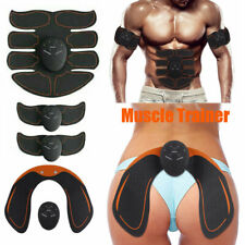 8PCS Stimulator Training Abs Fitness Gear Muscle Abdominal Toning Belt Trainer