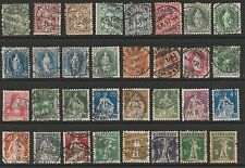Used Postage European Stamps