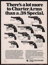 1978 Charter Arms Bulldog Undercover Pathfinder 12 models Revolver Ad