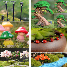 Garden Ornament Miniature Figurine Landscape DIY Dollhouse Craft Plant Kids Gift
