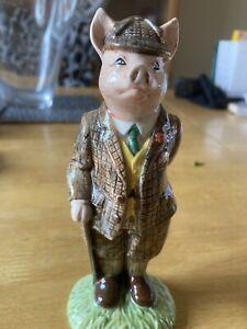 Beswick Country Folk Gentleman Pig ECF 4 Ceramic Figure