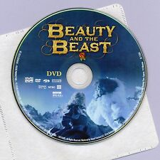 Beauty and the Beast 2014 PG-13 movie DVD disc & sleeve, V. Cassell, Lea Seydoux