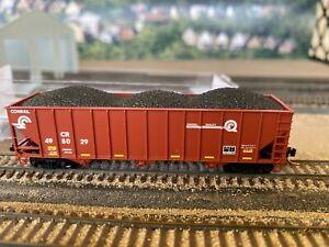 N-Scale Micro-Trains Conrail CR 100 Ton Hopper #495029 Custom