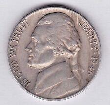1946 Jefferson nickel in EXTRA FINE condition stkg20