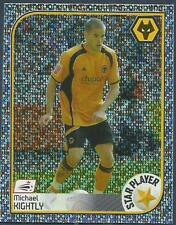 PANINI CHAMPIONSHIP 2009- #523-WOLVES-STAR PLAYER-MICHAEL KIGHTLY-SILVER FOIL