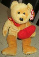 Ty Beanie Baby Goodheart the Bear  DOB October 20, 2007 MWMT Free Shipping