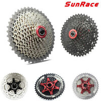 Sunrace 8 9 10 11Speed MTB Road Bike Cassette Bicycle Freewheel fit Shimano SRAM