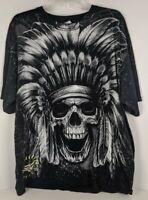 Men/'s Indian Win Skulls Camo//Black Raglan Hoodie Native Tribal Headdress America