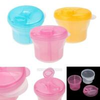 Portable Baby Travel Milk Powder Dispenser Container Pot Holder Food Storage Box