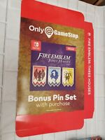 "Fire Emblem Three Houses Big Box Promo Display 11"" x 14.5"" x 2"" Nintendo Switch"