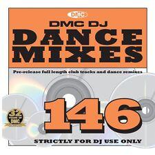 Dmc Danza mezclas cuestión 146 Música Dj Cd Club pistas & Dance Remixes