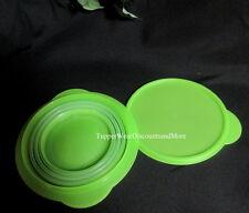 Tupperware NEU Flatout Flat Out Flex Schüssel faltbar klappbar grün 3 Tassen