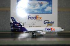 Gemini Jets 1:400 FedEx Mcdonnell Douglas MD-10F N376FE (GJFDX221) Model Plane