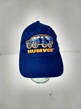 Humvee Hat Strapback Cap Hat One Size Fits All Embroidered Blue