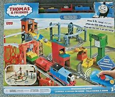 Thomas TrackMaster Fisher Price Mad Dash on Sodor Remote Control NEW 3ft by 5ft