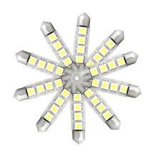 10X LED stoplight Lampe Licht 4 SMD White DC 12V 42mm BT