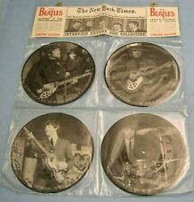 """THE BEATLES - The Beatles Interview Picture Disc Collection - 4 X 7"""" LIMITED -P1"""