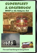 Superfleet & Sagebrush BNSF Seligman Sub DVD NEW HIghball Warbonnets Train Video