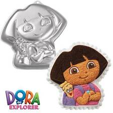 Dora the Explorer with Backpack Cake Pan from Wilton #6305 - NEW
