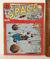 VINTAGE 1954 SPACE FACT & SCIENCE-FICTION MONTHLY SCI-FI STORY MAGAZINE No 2 UK!