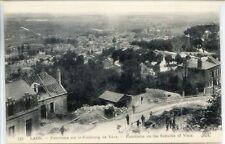CP 02 Aisne - Laon - Panorama sur le Faubourg de Vaux