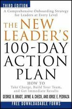 The New Leader's 100-Day Action Plan : How to Take Charge, Build Your Team, and…