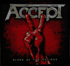 Accept - Blood of the Nations Patch 10cm x 10cm